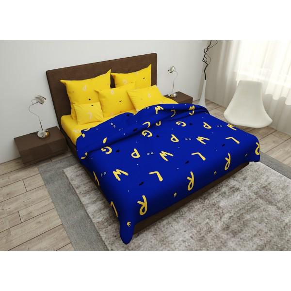 Комплект постельного белья Alphabet SoundSleep Полисатин двуспальный