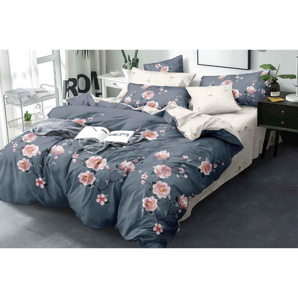 Комплект постельного белья Pink roses SoundSleep бязь полуторный