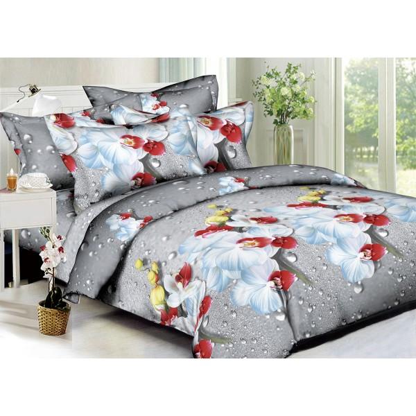 Комплект постельного белья Orchid SoundSleep Полисатин полуторный