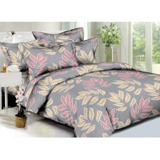 Bed linen set Foliage SoundSleep Polysatin double