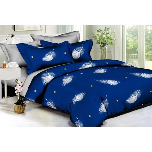 Комплект постельного белья White feathers SoundSleep Полисатин евро