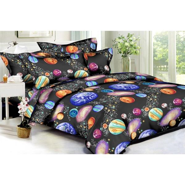 Комплект постельного белья Planets SoundSleep Полисатин полуторный