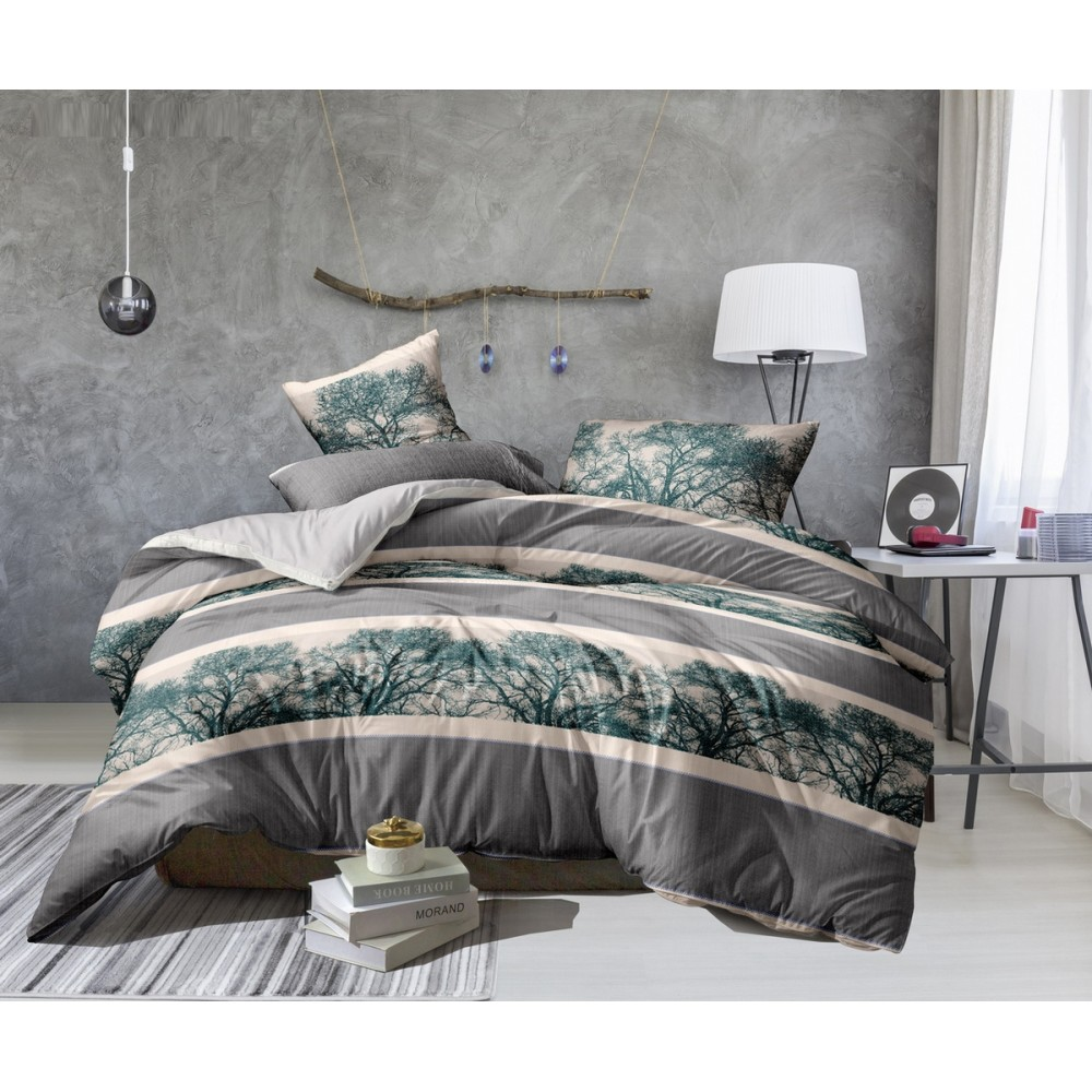 Комплект постельного белья Shadow SoundSleep Полисатин двуспальный