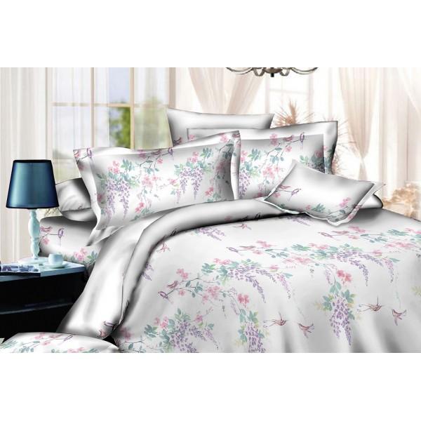 Комплект постельного белья SoundSleep Spring garden ранфорс евро