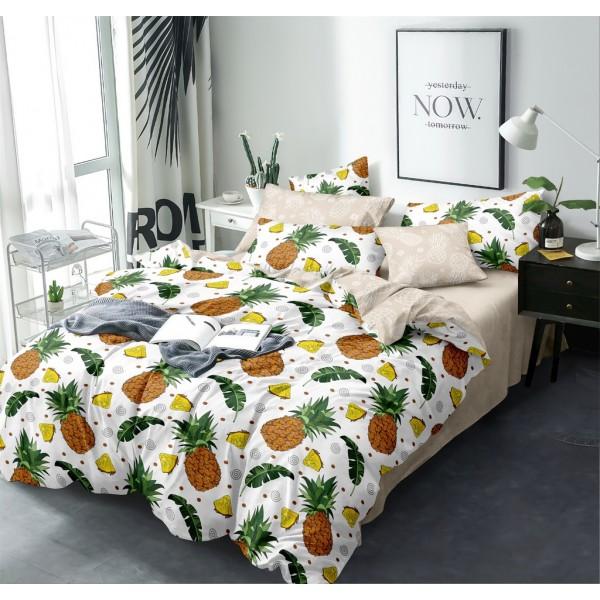 Комплект постельного белья Pineapple SoundSleep Сатин полуторный