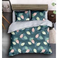 Комплект постельного белья Leaves SoundSleep Сатин двуспальный