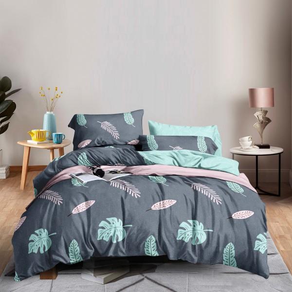 Комплект постельного белья Palm SoundSleep Сатин полуторный