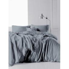 Комплект постельного белья SoundSleep Muslin Dark Grey евро