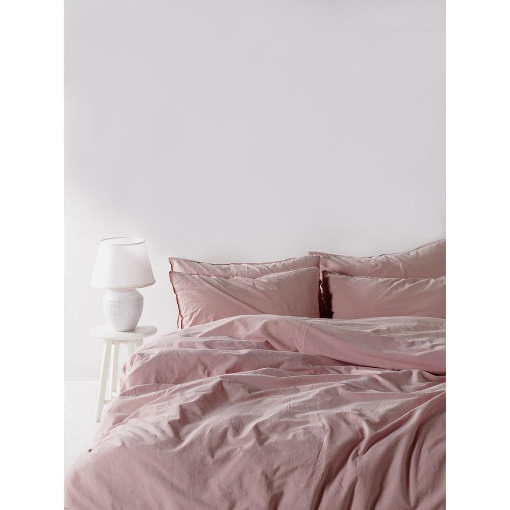 Комплект постельного белья Camello roses Stonewash SoundSleep полуторный
