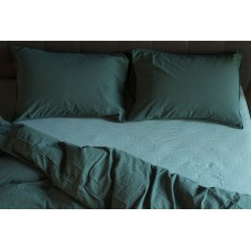 Pillowcase set Stonewash dark green SoundSleep dark green 50x70 cm