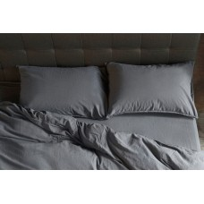 Pillowcase set Stonewash castle rock SoundSleep gray 50x70 cm