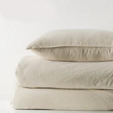 Комплект постельного белья SoundSleep Stonewash бежевый евро