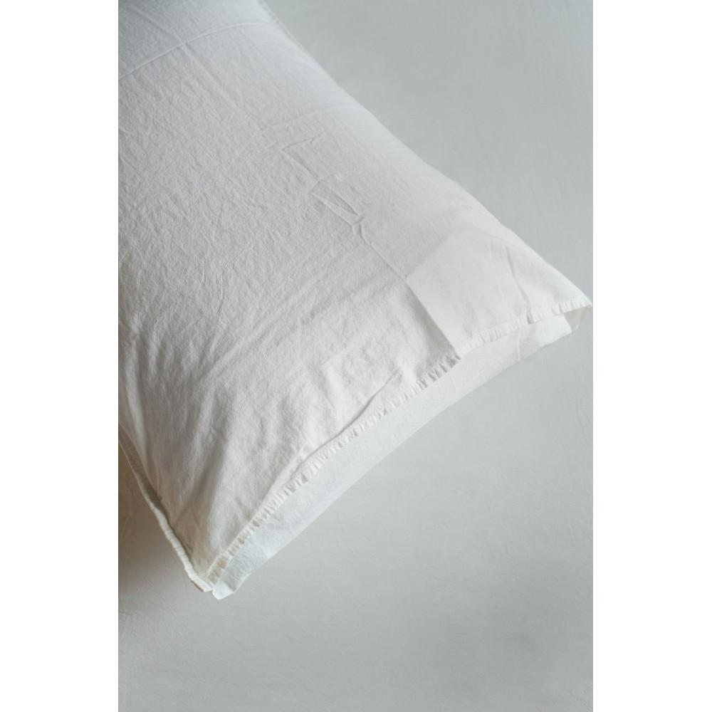 Комплект постельного белья SoundSleep Stonewash Adriatic евро milky молочный