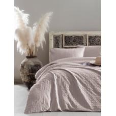 Комплект постельного белья Vogue SoundSleep сатин Cream кремовый евро