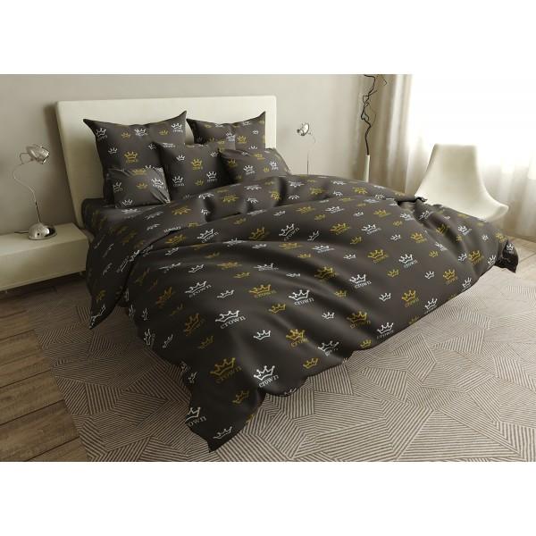 Комплект постельного белья Crown SoundSleep бязь полуторный
