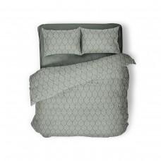 Комплект постельного белья Green Grey SoundSleep евро