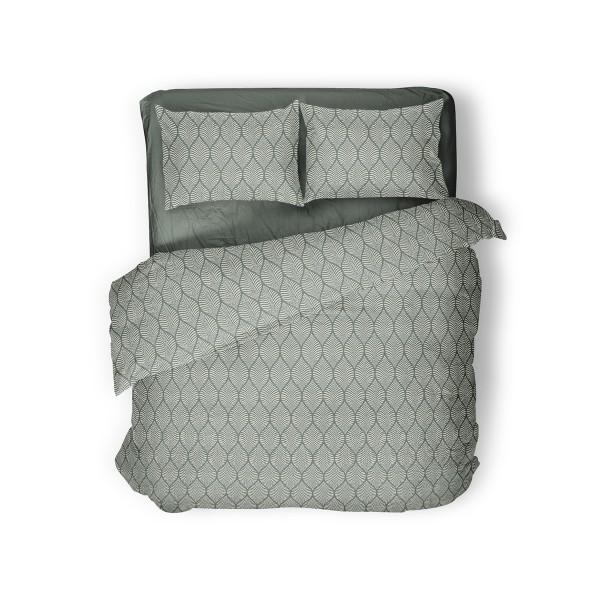 Комплект постельного белья Green Grey SoundSleep семейный