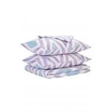 Bed linen set SoundSleep Violet Rhombus calico single