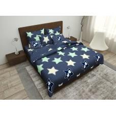 Bed linen set SoundSleep Night Stars calico teenage