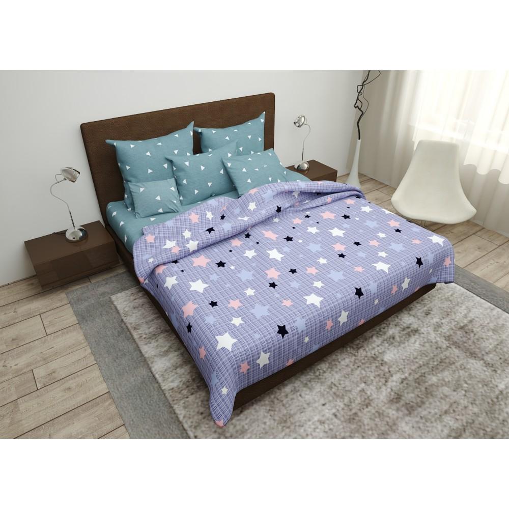 Комплект постельного белья SoundSleep Geometry бязь двуспальный