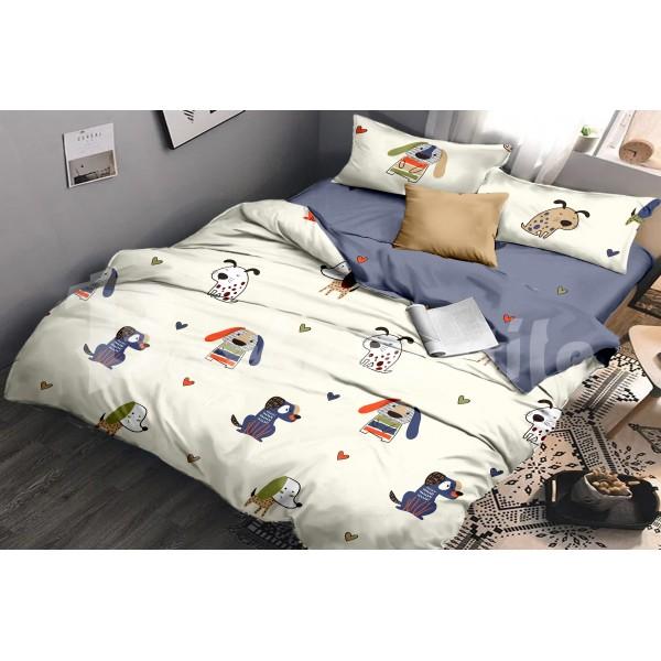 Комплект постельного белья SoundSleep Puppies бязь подростковый