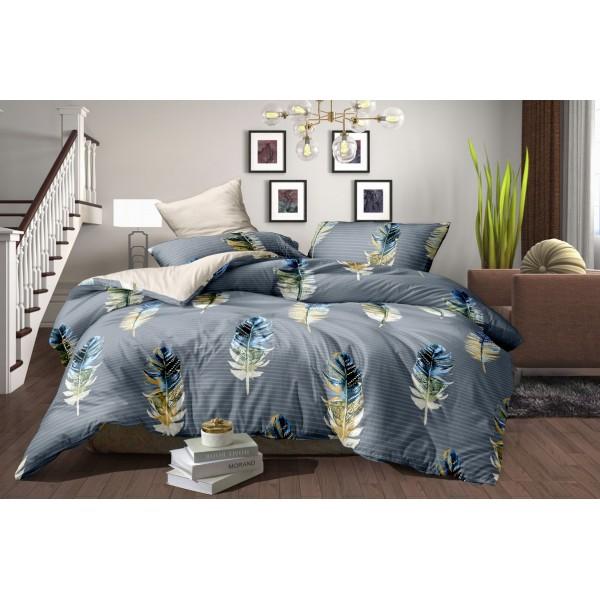 Комплект постельного белья SoundSleep Bird feather бязь евро