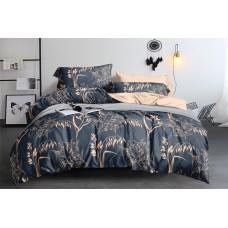 Комплект постельного белья Beige flowers SoundSleep бязь полуторный