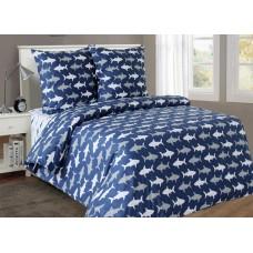 Комплект постельного белья Sea shark SoundSleep подростковый