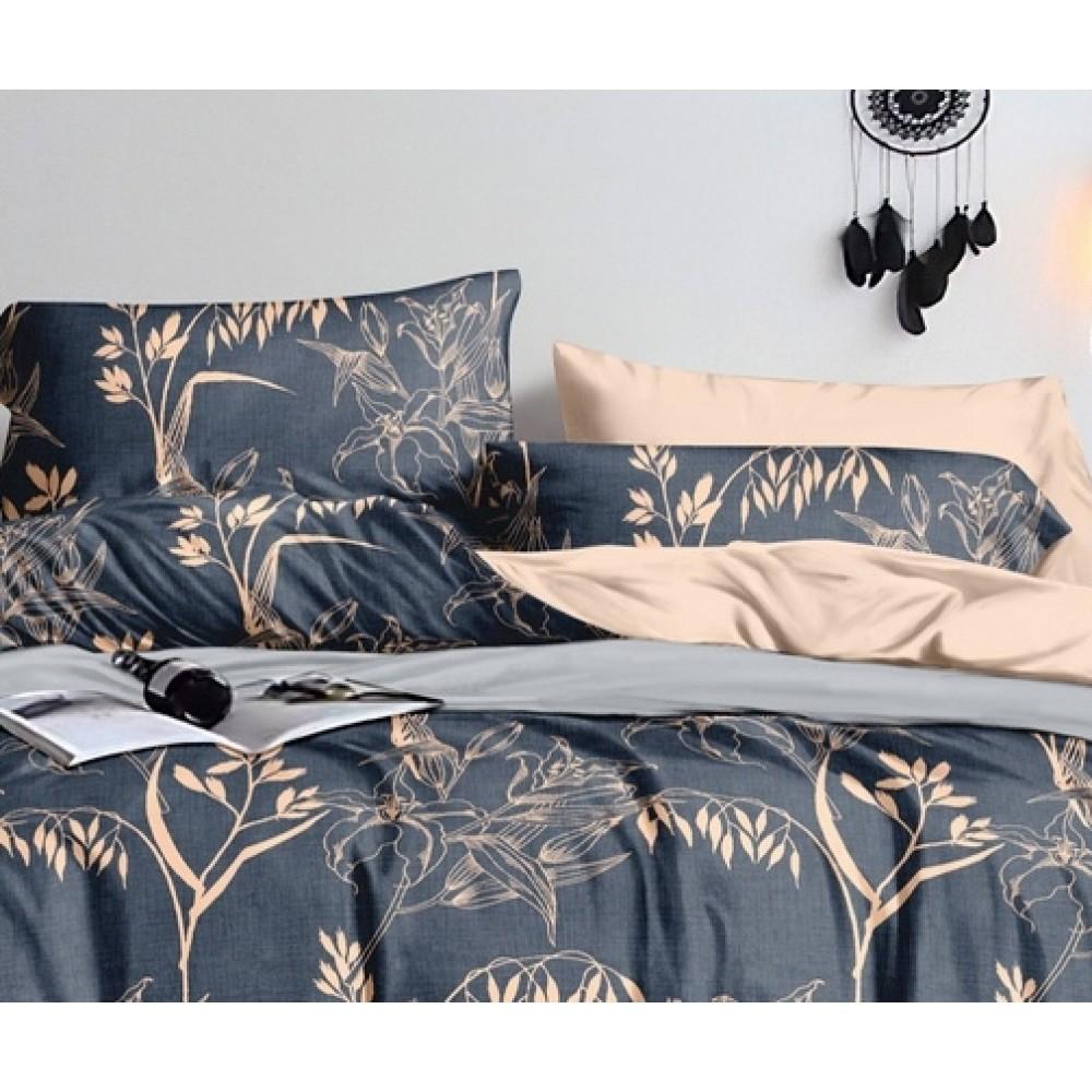 Комплект наволочек из бязи Beige flowers SoundSleep 40х60 см