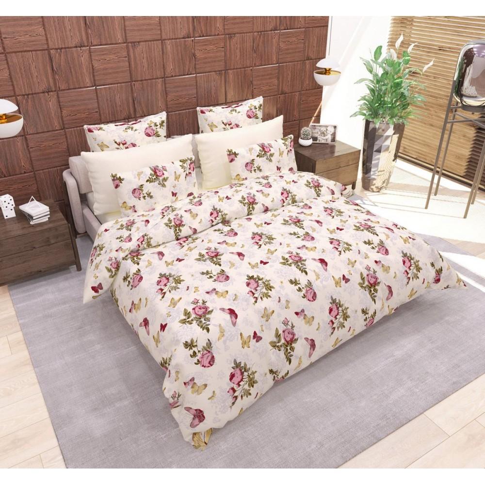 Комплект постельного белья Butterfly SoundSleep бязь евро