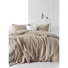 Комплект постельного белья SoundSleep Muslin cream евро