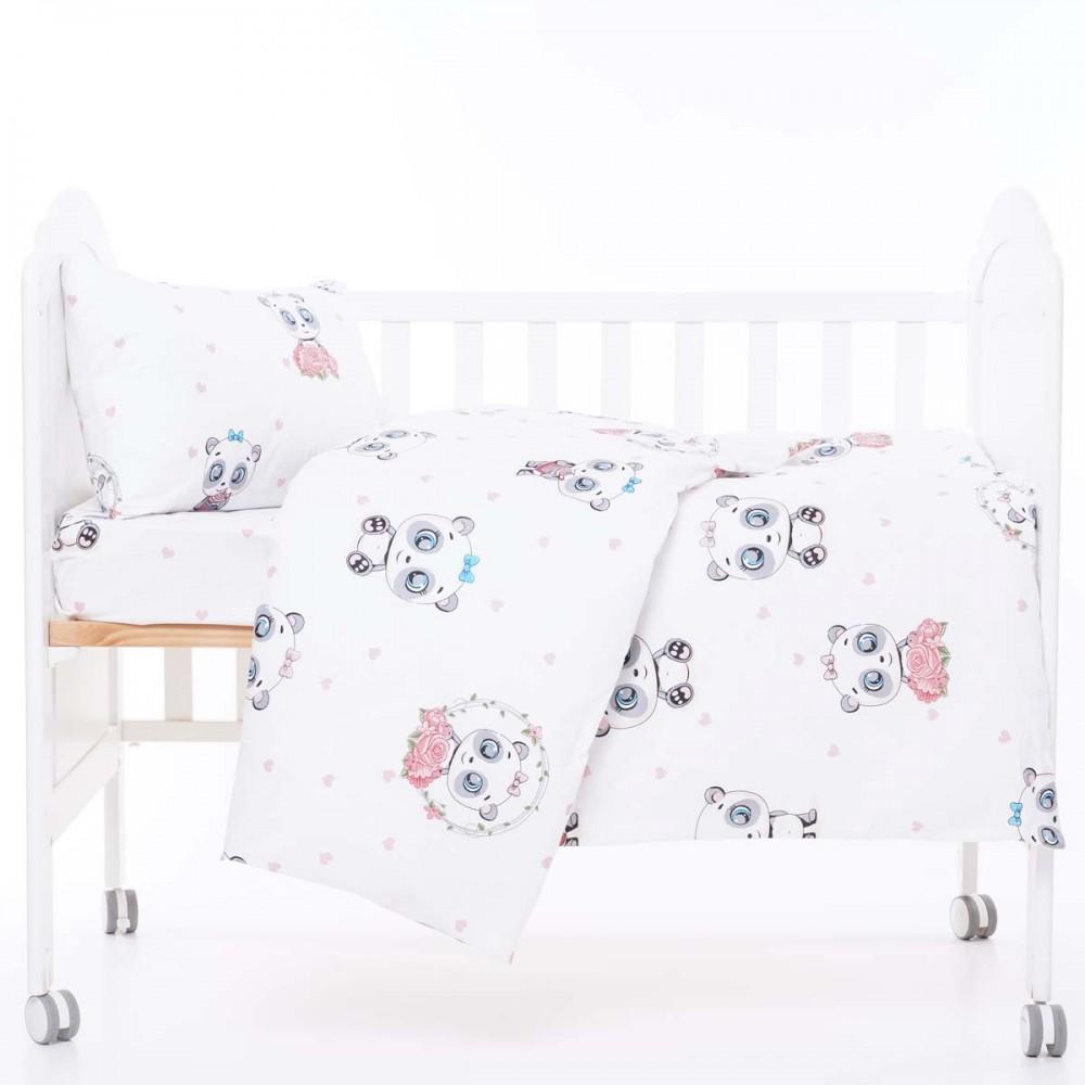 Комплект постельного белья в кроватку Mу Рanda SoundSleep ранфорc