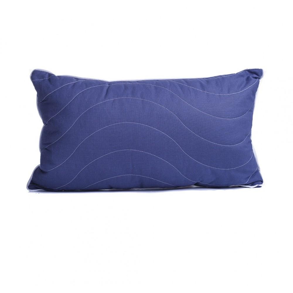 Подушка декоративная SoundSleep Dolia с кантом Синяя 30х50 см
