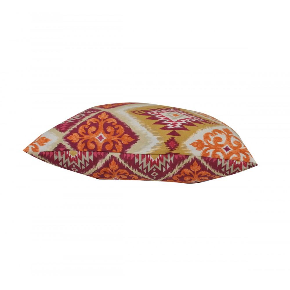 Подушка декоративная Hugge bordo SoundSleep бордовая 50х50 см