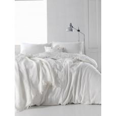 Комплект постельного белья SoundSleep Muslin white евро