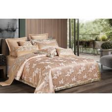 Bed linen set Exclusive gold SoundSleep satin-jacquard euro