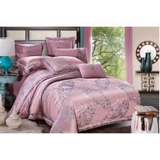 Bed linen set Treasure pudra SoundSleep satin-jacquard euro