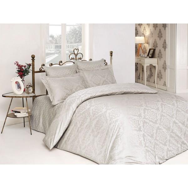 Комплект постельного белья сатин-жаккард Ottoman Stone SoundSleep евро