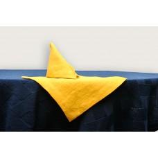 Льняная салфетка Muse горчичная SoundSleep 18х18 см