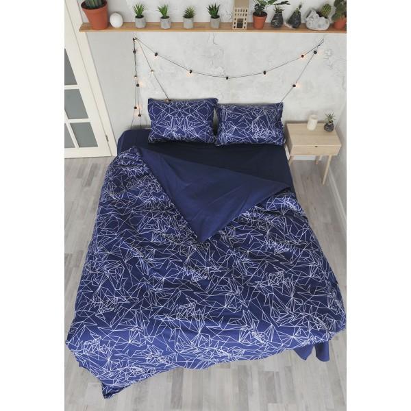 Комплект постельного белья SoundSleep Abstract ранфорс полуторный