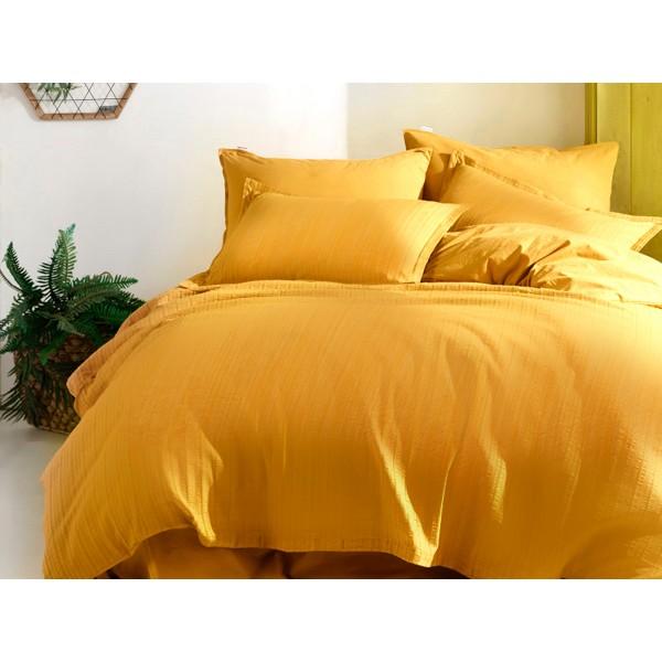 Комплект постельного белья SoundSleep Masaik Stonewash Yellow евро