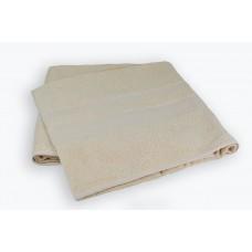 Махровая простынь Cream SoundSleep кремовая 200х220 см