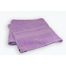 Махровая простынь Purple SoundSleep сиреневая 200х220 см
