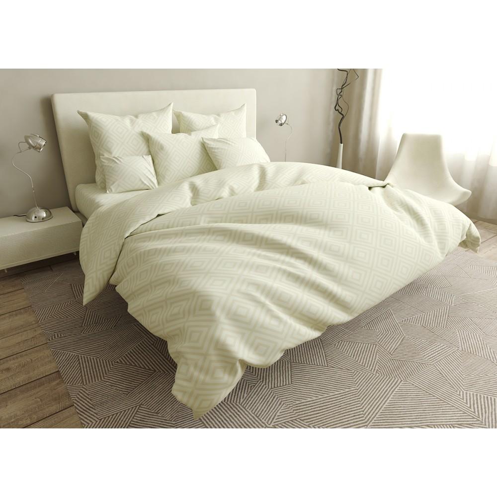 Комплект постельного белья Casual beige SoundSleep ранфорс полуторный