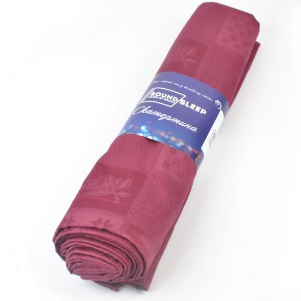 Скатерть хлопковая Red SoundSleep 150х220 см