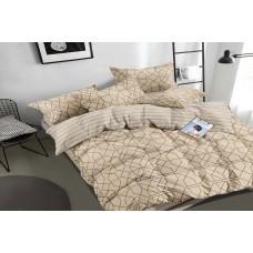 Sateen bed linen Hexagons SoundSleep family