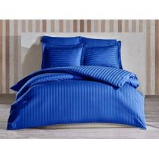 Bedding set SoundSleep satin-stripe Navy Blue euro