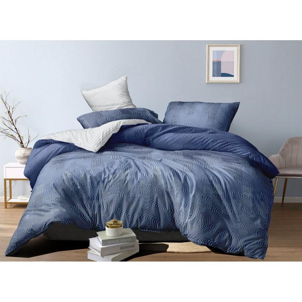 Хлопковое постельное белье Mostar SoundSleep с сатиновым плетением евро
