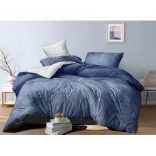 Хлопковое постельное белье Mostar SoundSleep с сатиновым плетением двуспальное