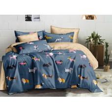 Хлопковое постельное белье Ostersund SoundSleep с сатиновым плетением двуспальное
